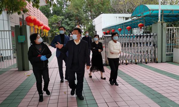 市民政局党组书记、局长廖远飞一行到福田区、深圳市救助管理站督导疫情防控工作